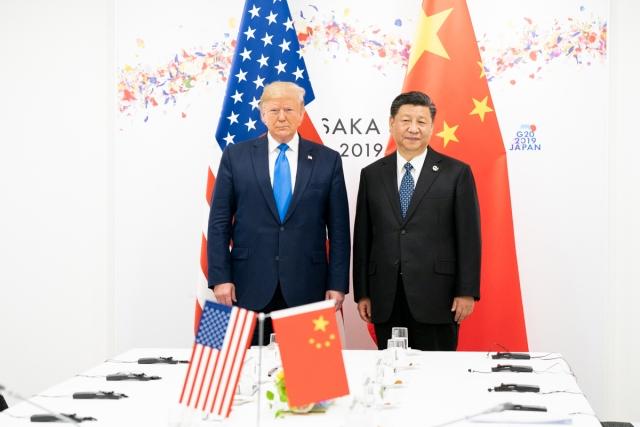 Дональд Трамп и Си Цзиньпин. Саммит G20 в Осаке, Япония. 29 июня 2019 года