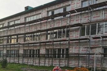 Школа закрыта на ремонт