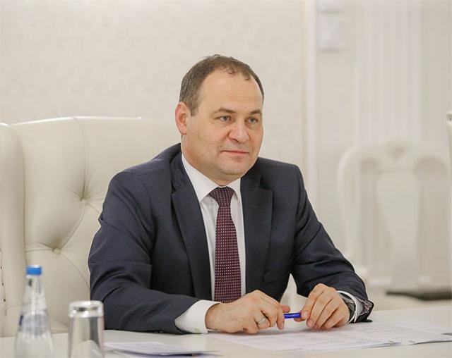 Председатель белорусского совмина Роман Головченко