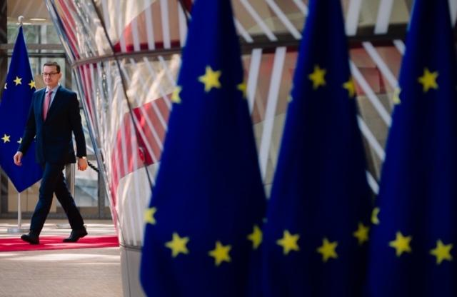 Премьер-министр Польши Матуш Моравецкий
