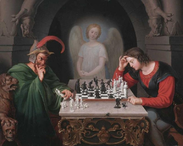 Фридрих Август Мориц Ретч. Шахматисты. 1830-е