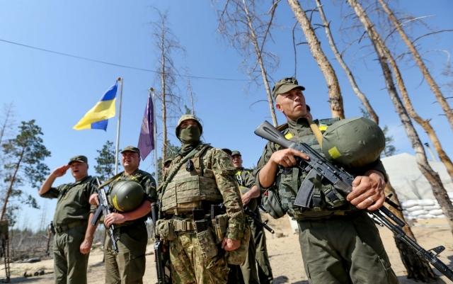Украинские силовики. Донбасс