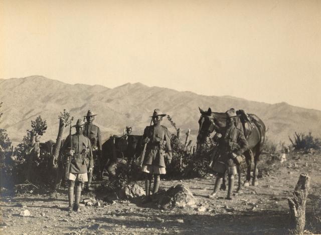 5-й Королевский стрелковый полк гуркхов в Вазиристане во время Третьей англо-афганской войны