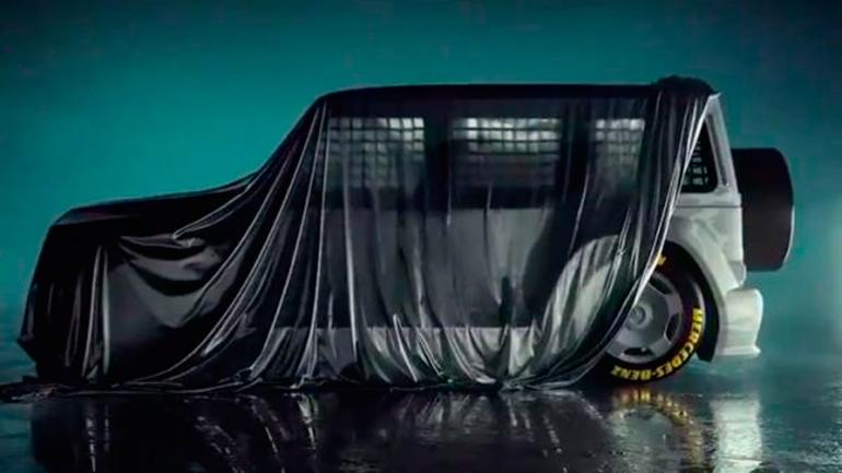 Тизер спортивной модели Mercedes-AMG G-Class