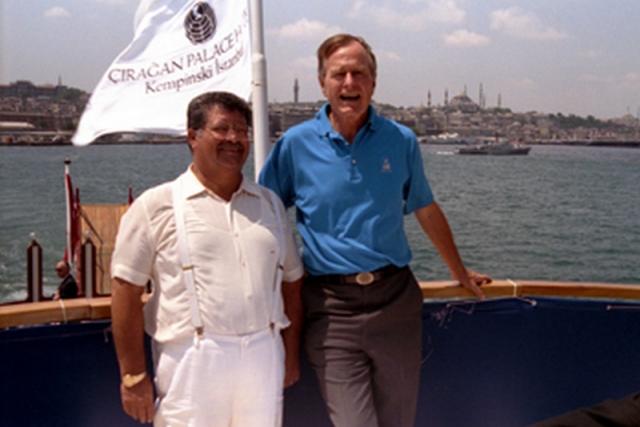 Джордж Буш старший и Тургут Озал