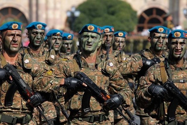 Спецназ ВС Армении