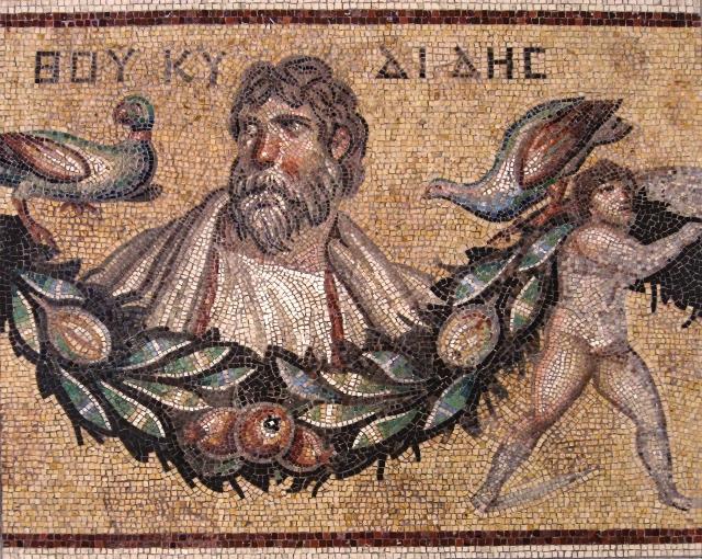 Мозаика Фукидида III в.н.э