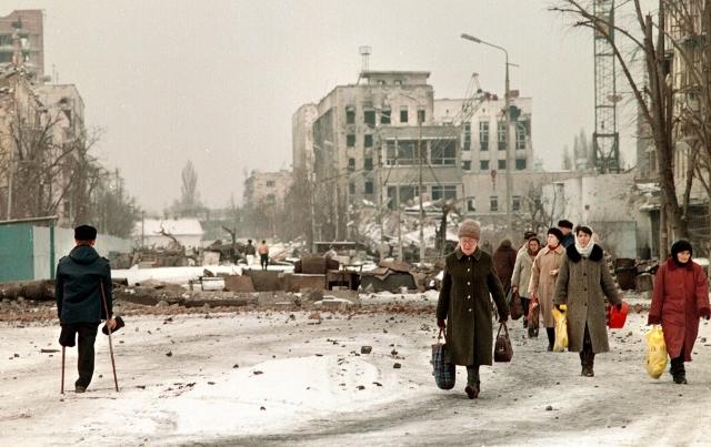 Грозный. 1996