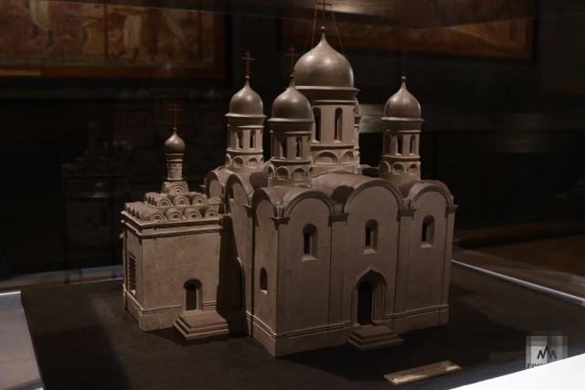 Модель Троицкого собора Троице-Макарьева монастыря