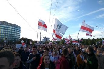 Перемен. Манифестация в Минске 13.09.2020