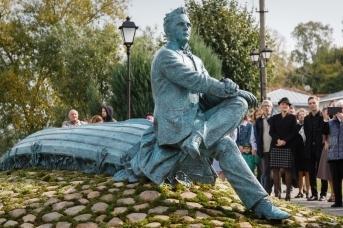 Памятник Фёдору Шаляпину в Плёсе