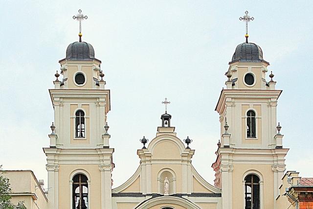 Архикафедральный собор Пресвятого Имени Пресвятой Девы Марии. Минск