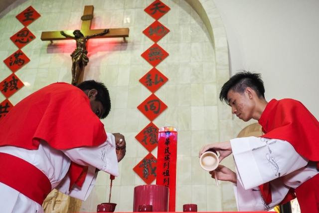 Китайские католики