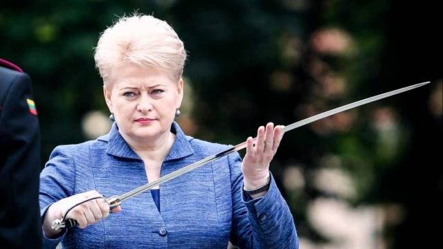 Бывший президент Литвы Даля Грибаускайте