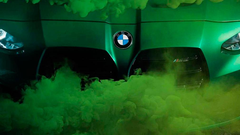 Тизеры новинок BMW