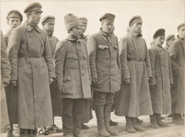 Пленные красноармейцы. Осень 1919 года