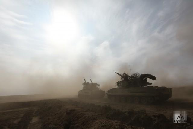 Военные учения «Кавказ-2020» в Волгограде
