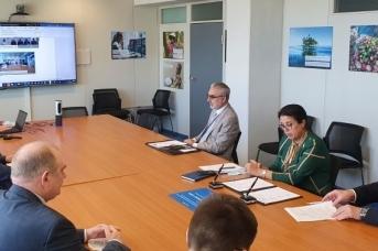 Дистанционная церемония подписания Соглашения о сотрудничестве между МАГАТЭ и Технической академией Росатома