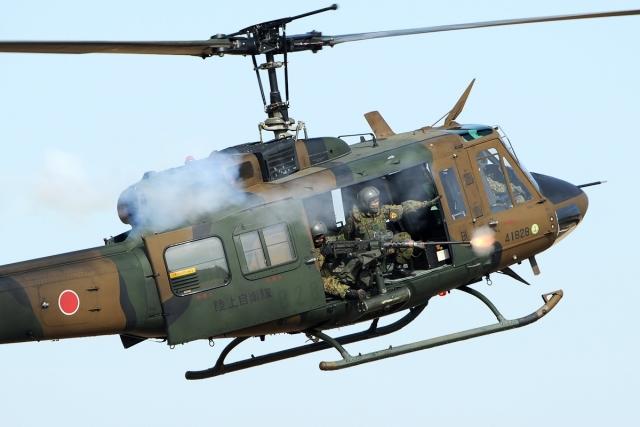 Вертолёт ВВС Японии