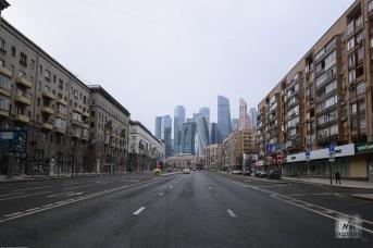 Москва в период режима ограничений