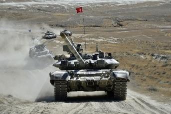 Азербайджано-турецкие совместные широкомасштабные тактические учения в 2020 году