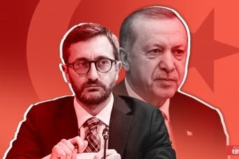 Фахреттин Алтун и Реджеп Тайип Эрдоган