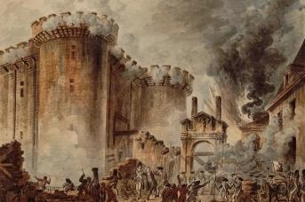 Жан Пьер Уэль. Взятие Бастилии. 1789