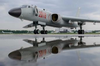 Китайский бомбардировщик H-6K