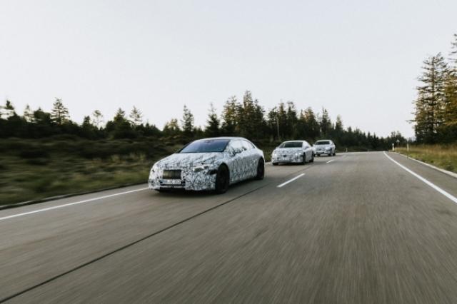 Электрокары Mercedes-Benz