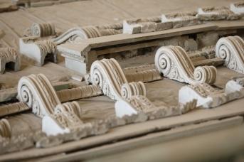 Предметы декора в Полукруглом зале