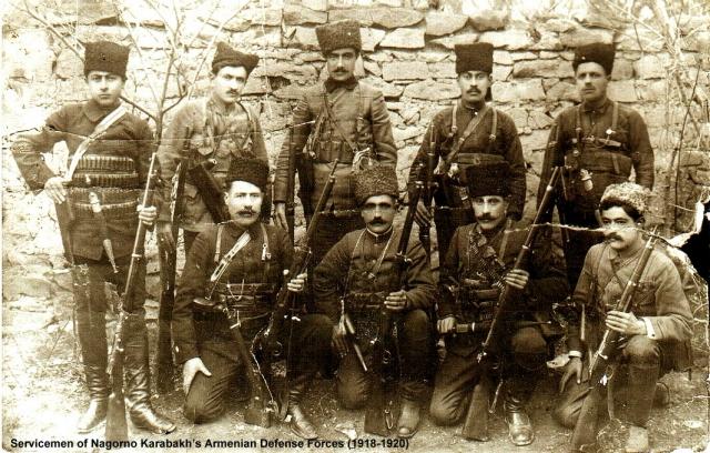 Солдаты армянского национального комитета