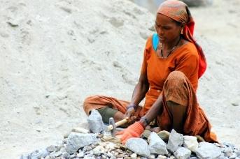 На каменоломне