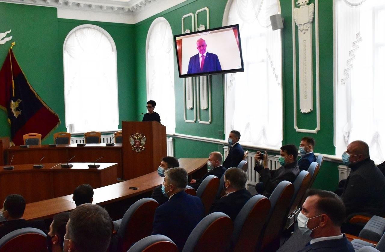 Костромской губернатор присягнул на верность народу и Конституции «онлайн»