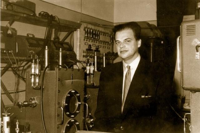 Лауреат Нобелевской премии Николай Басов