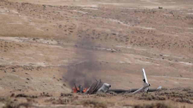 Уничтоженный БПЛА Армении