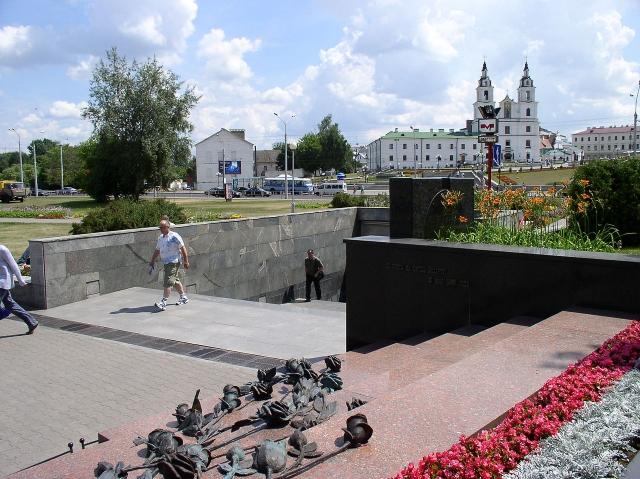 Вход на станцию метро «Немига», Минск, Беларусь