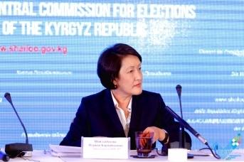 Председатель ЦИК Киргизии Нуржан Шайлдабекова