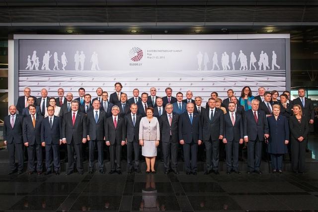 Саммит Восточного партнёрства ЕС в Риге. 2015
