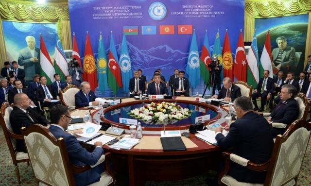 Саммит глав государств Совета сотрудничества тюркоязычных государств. Киргизия. 2018
