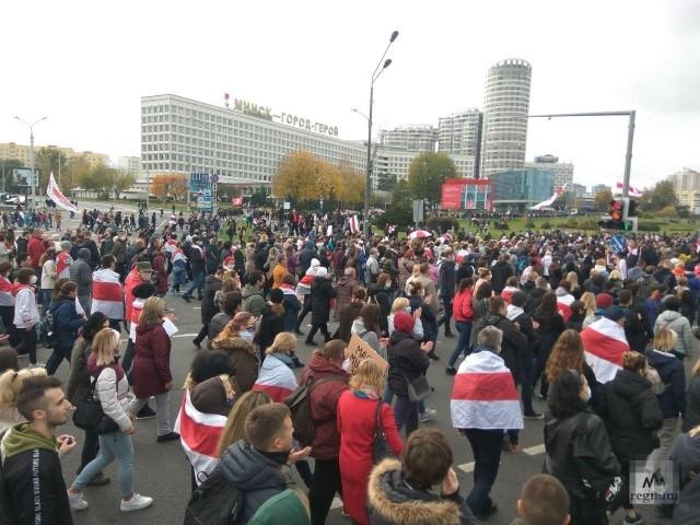 25 октября 2020. Минск