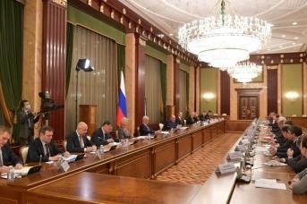 Встреча Михаила Мишустина с руководством Государственной думы