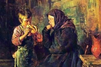 Владимир Маковский. Свидание (фрагмент) 1883