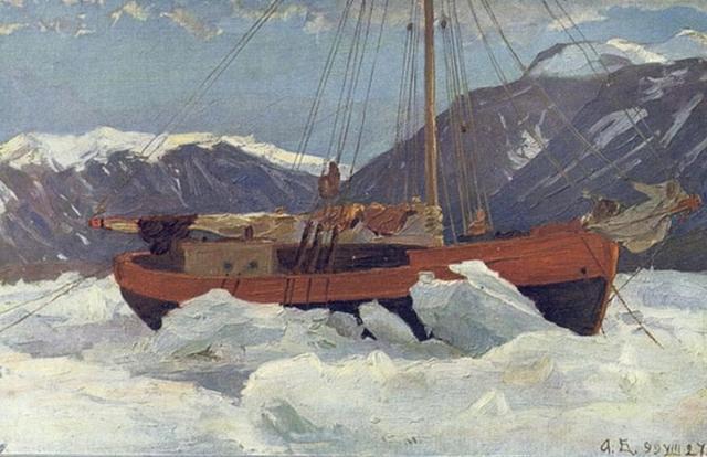 Александр Борисов. Моя яхта «Мечта». 1899