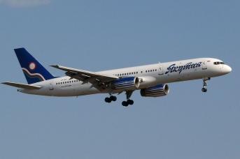 Самолет авиакомпании «Якутия»