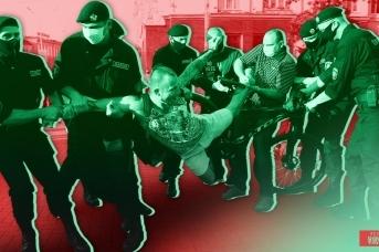 Протесты в Белоруссии. Иван Шилов (с) ИА REGNUM