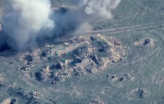 Уничтожение зенитно-ракетных комплексов Армении