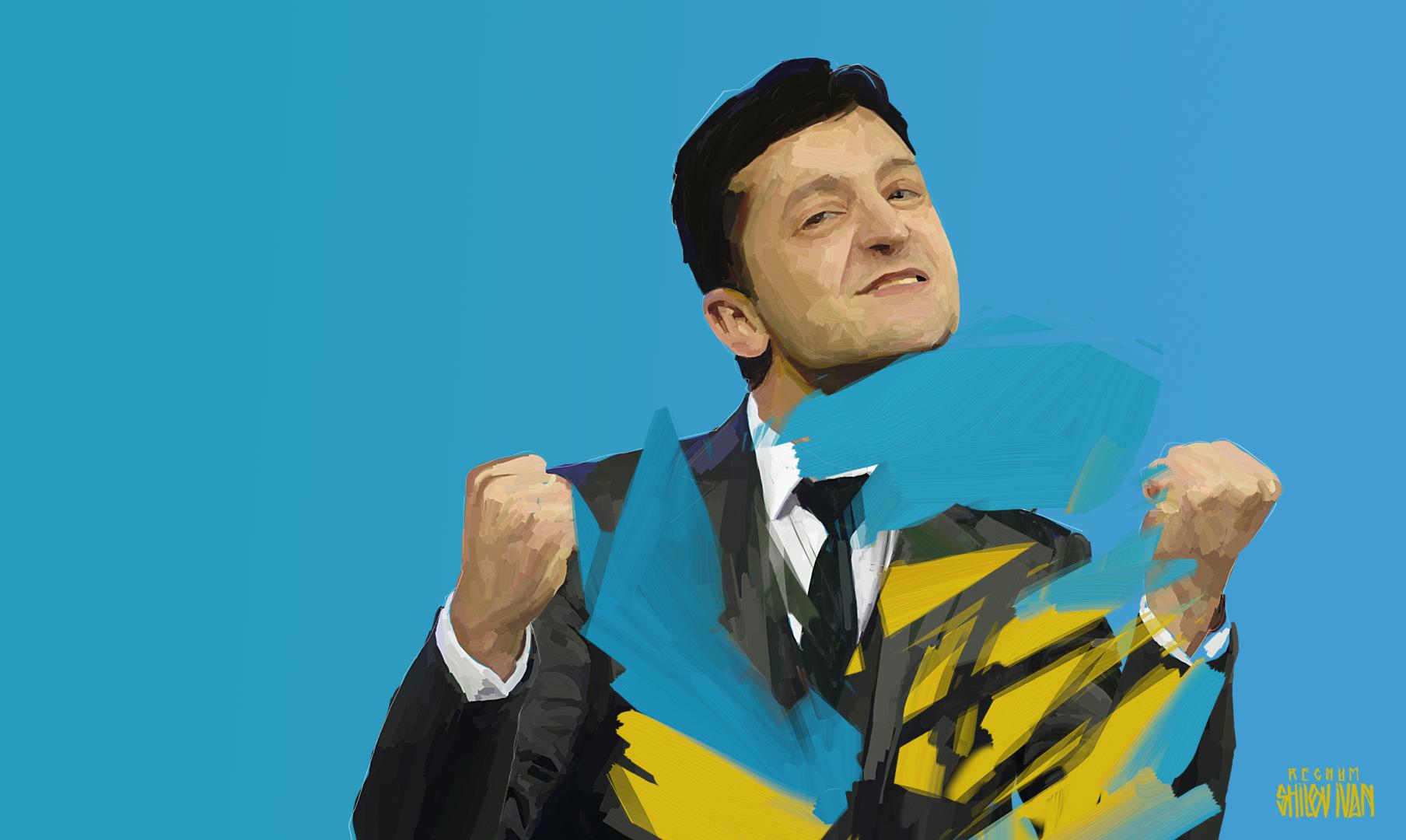 Зеленский рассказал о заговоре «старых элит и олигархов» против него