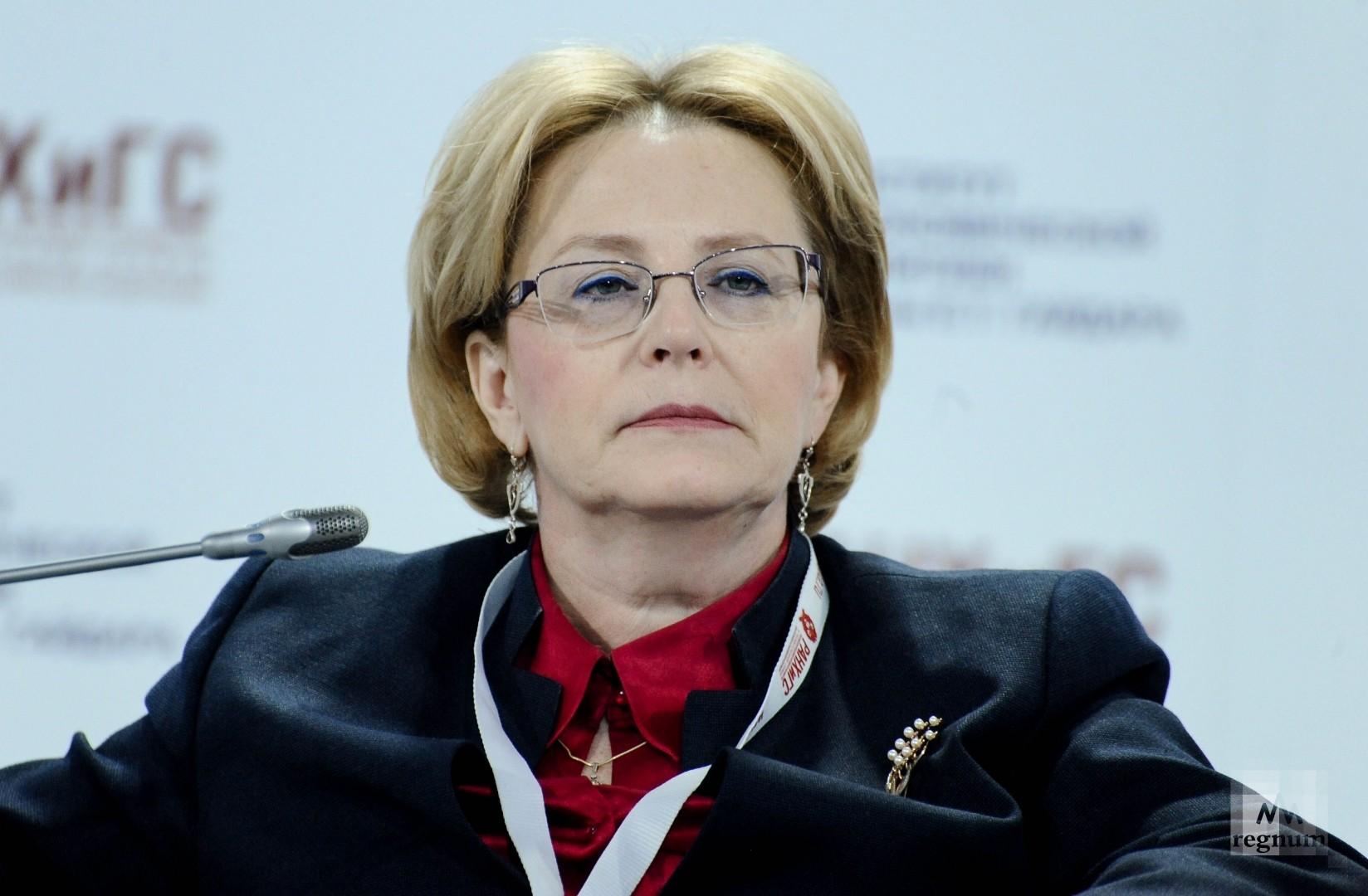 Вероника Скворцова награждена орденом Пирогова - ИА REGNUM