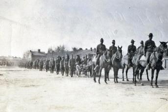Американские войска в Хабаровске