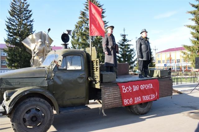 28 октября 2020 года. Открытие Года трудового подвига строителей Сурского рубежа в Красночетайском районе